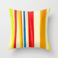 martini Throw Pillows featuring Martini by Arwan Mauriattama