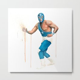 Lucha Libre - The Odd Couple Metal Print