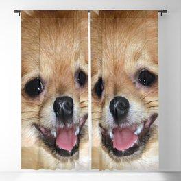 My joyful smile Blackout Curtain