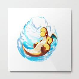 Dragonite Metal Print