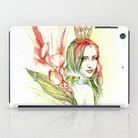princess iPad Cases featuring Princess by Veronika Neto