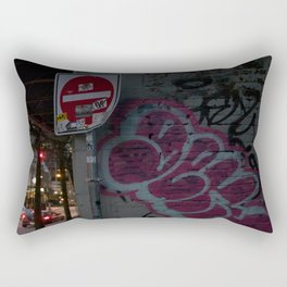 Alley way entrance Vancouver Rectangular Pillow