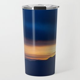 Blue Sunset Travel Mug