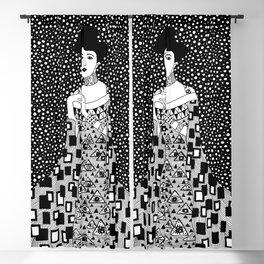 Gustav Klimt - Golden woman Blackout Curtain