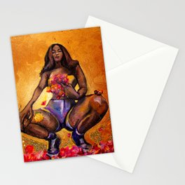 Glitter Women Series, #8 Stationery Cards