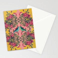 Love Birds II (yellow version) Stationery Cards