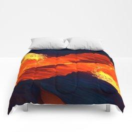 Spiral Fire Comforters