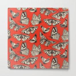 summer butterflies fire Metal Print