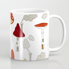 mushroom homes Coffee Mug