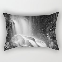 Avalon Falls - Black & White Rectangular Pillow