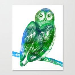Eule   Owl Canvas Print