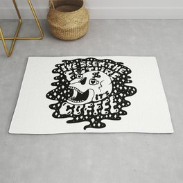 The Future is Coffee Rug