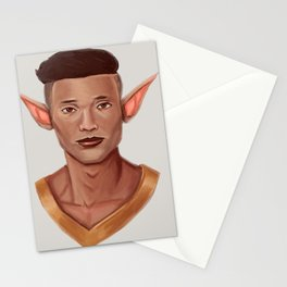 Chad, the Karate Elf Stationery Cards