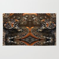 mother Area & Throw Rugs featuring Mother by Robin Curtiss