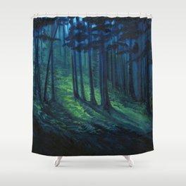 Lovely, Dark, and Deep Shower Curtain