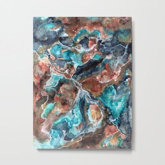 Etheral Nebula Metal Print