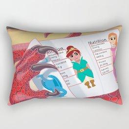 Calorie Counter Rectangular Pillow