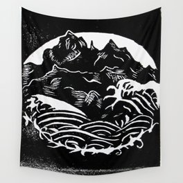 Black Mountains Wall Tapestry