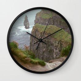 Cliffs of Mohr Wall Clock