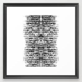 (this)Integrate Framed Art Print