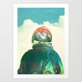 God is an Astronaut Art Print