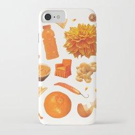 ORANGE II iPhone Case