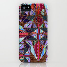 RETRO KALEIDOSCOPE //TWO iPhone Case
