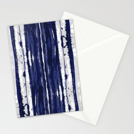 Hand Drawn Ikat Stripe Stationery Cards