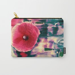 Vintage poppies (11) Carry-All Pouch