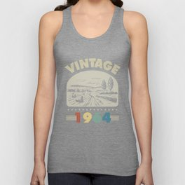 Birthday Gift Vintage 1964 Classic Unisex Tank Top