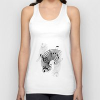 music notes Tank Tops featuring Music Notes by Svetlana Sewell