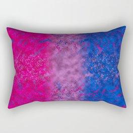 With Bi Pride Rectangular Pillow