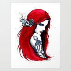 -City Ariel- Art Print