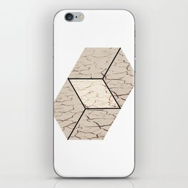 Earth hexagon abstract - Earth sign - The Five Elements iPhone Skin