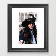 Patrician pirate Framed Art Print