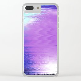 Glytch 17 Clear iPhone Case