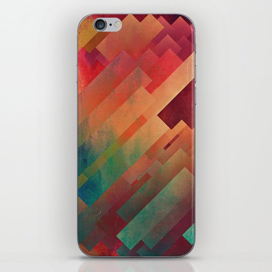 slyb ynvyrtz iPhone & iPod Skin