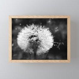 Glow in dark Framed Mini Art Print