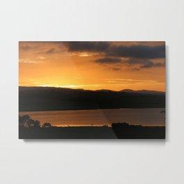 Sunrise - Tamar River - Tasmania - Aus Metal Print