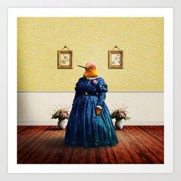 Lady Hortense Hummingbird Art Print