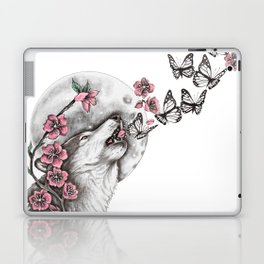Call Of The Wolf Laptop & iPad Skin
