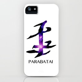 Parabatai Galaxy iPhone Case