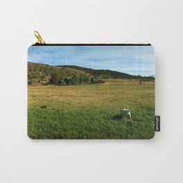 Mount Sopris and Puppies - Glenwood Springs, CO Carry-All Pouch