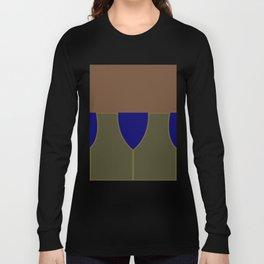 Jake Sisko - Minimalist Star Trek DS9 Deep Space Nine - Trektangle - Trektangles startrek Long Sleeve T-shirt