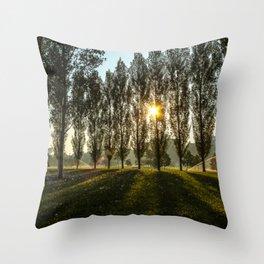 Penn State Sunrise Throw Pillow