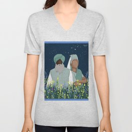 I Stand with the Farmers Unisex V-Neck