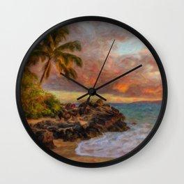Maui Waui Wall Clock