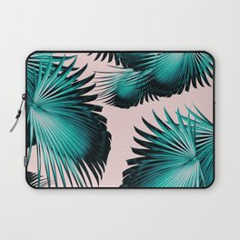Fan Palm Leaves Paradise #4 #tropical #decor #art #society6 Laptop Sleeve