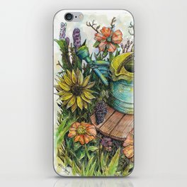 You Can Cut All The Flowers But You Cannot Keep Spring From Coming iPhone Skin