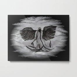 Archangel , Angel Uriel Metal Print